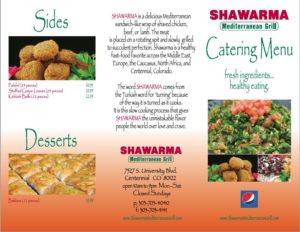 Catering by Shawarma Mediterranean Grill